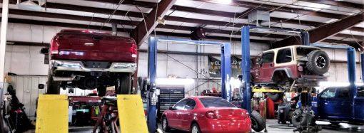 Instalacja pneumatyczna w warsztacie samochodowym
